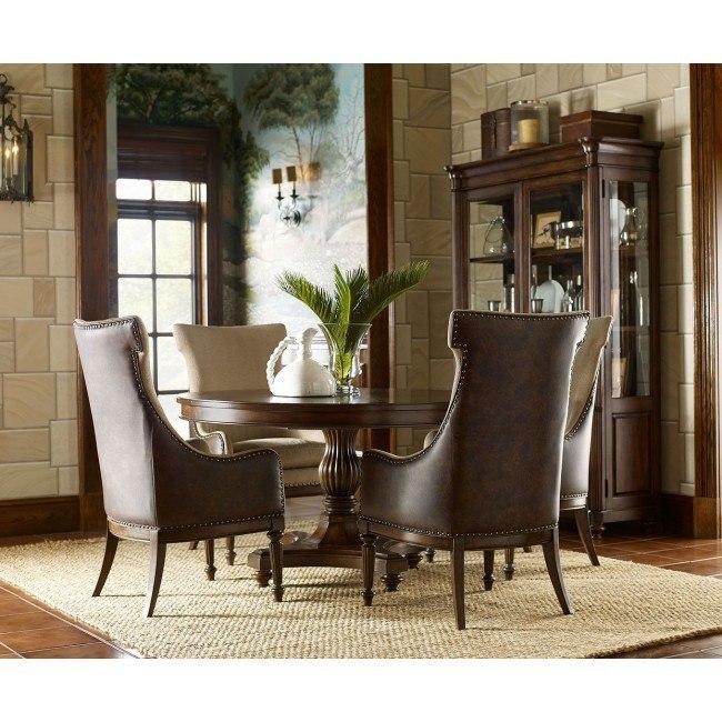 Barrington Farm High/Low Dining Room Set w/ Host Chairs