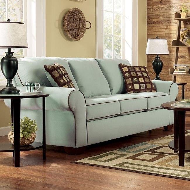 Excellent Montclair Seafoam Queen Sofa Sleeper Cjindustries Chair Design For Home Cjindustriesco