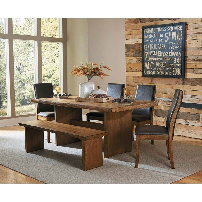 Fantastic Tod Dining Room Set W Bench Ncnpc Chair Design For Home Ncnpcorg