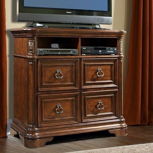 Romantic Dreams Media Chest Vaughan Furniture Furniture Cart