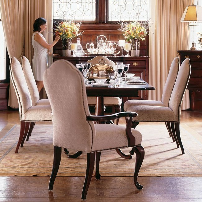 Carriage House Double Pedestal Dining Room Set Kincaid Furniture Furniture Cart