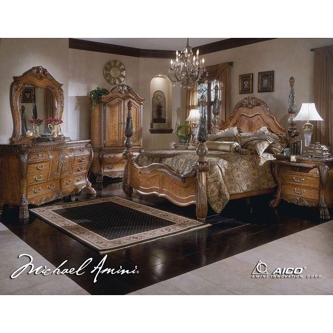 Eden Poster Bedroom Set Aico Furniture