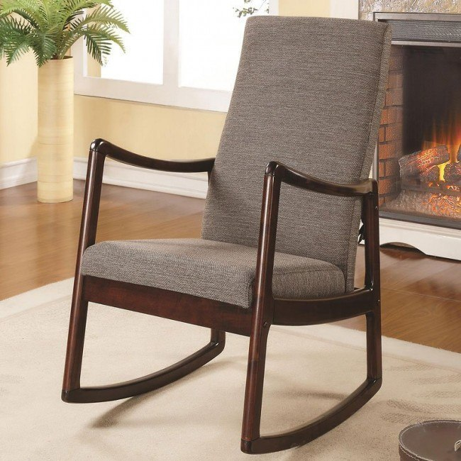 Incredible Mid Century Modern Rocking Chair Alphanode Cool Chair Designs And Ideas Alphanodeonline