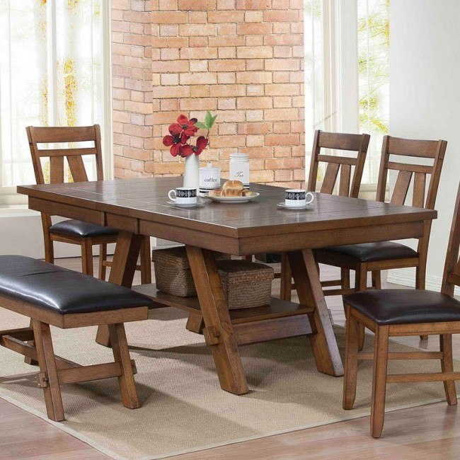 Nevan Dining Table Acme Furniture