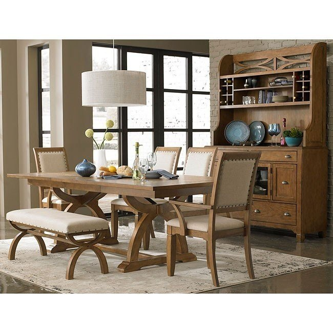Pleasant Town And Country Dining Room Set W Bench Caraccident5 Cool Chair Designs And Ideas Caraccident5Info