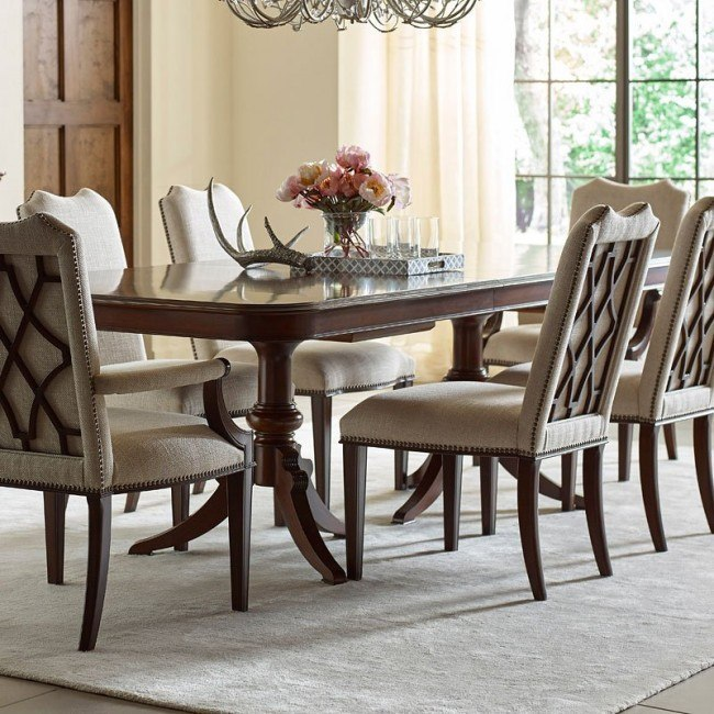 Admirable Hadleigh Rectangular Dining Table Bralicious Painted Fabric Chair Ideas Braliciousco