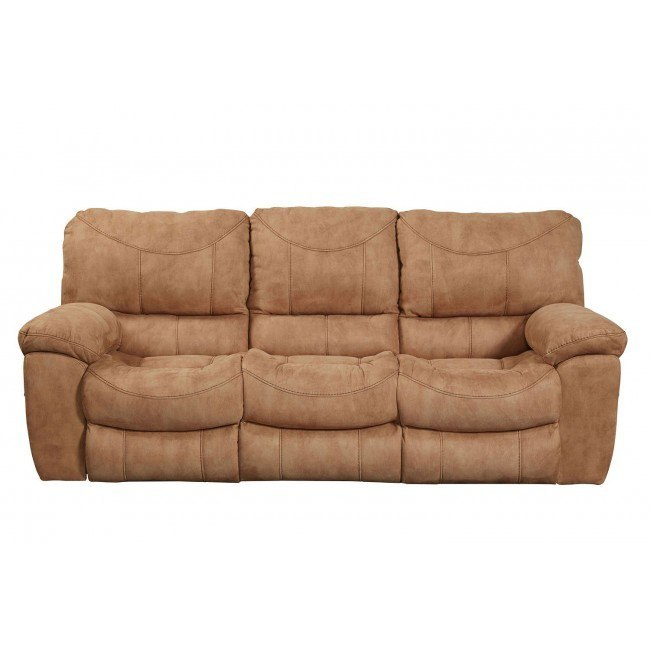 Wondrous Terrance Power Reclining Sofa Caramel Beatyapartments Chair Design Images Beatyapartmentscom