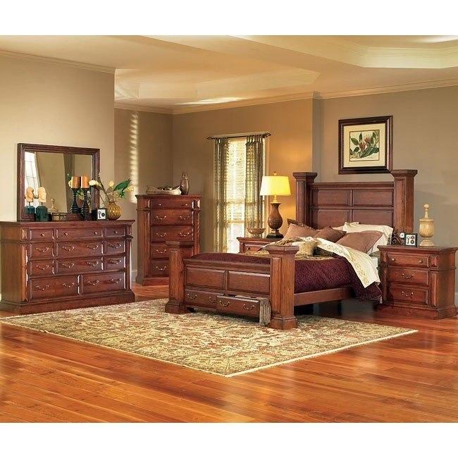 Torreon Bedroom Set Antique Pine