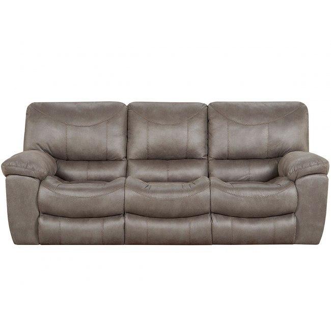 T Reclining Sofa Charcoal
