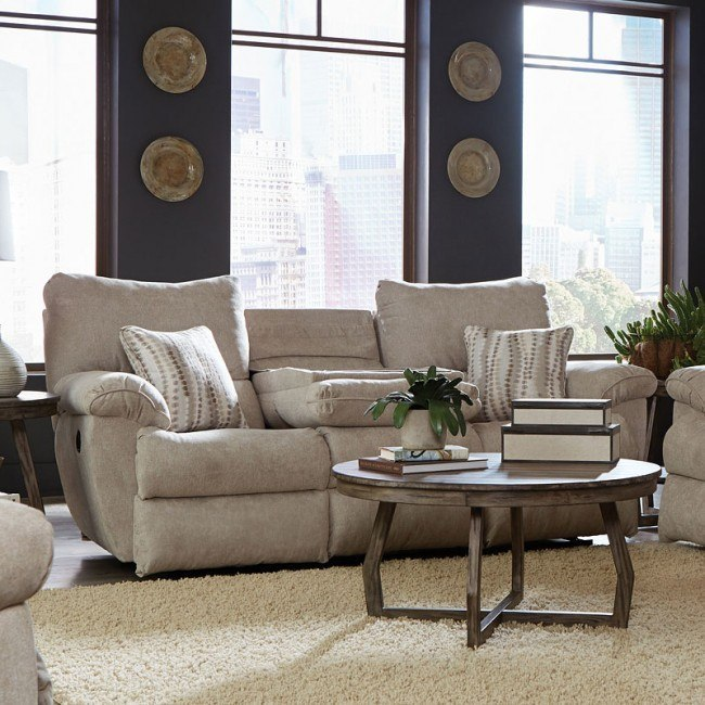 Awesome Sadler Power Lay Flat Reclining Sofa W Drop Down Table Jute Lamtechconsult Wood Chair Design Ideas Lamtechconsultcom