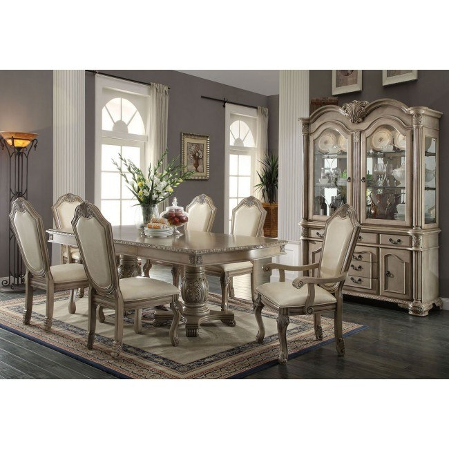 Chateau de Ville Dining Room Set (Antique White)