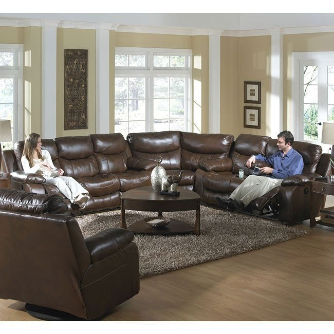 Strange Dallas Reclining Sectional W Power Ocoug Best Dining Table And Chair Ideas Images Ocougorg