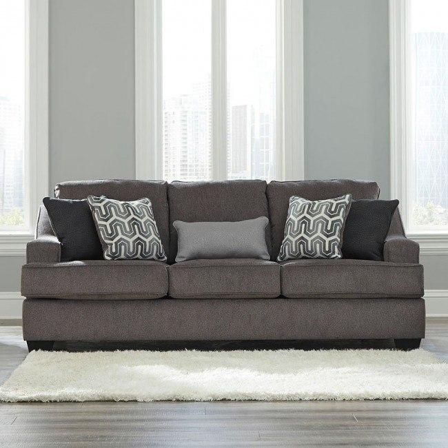 Astonishing Gilmer Gunmetal Sofa Pdpeps Interior Chair Design Pdpepsorg