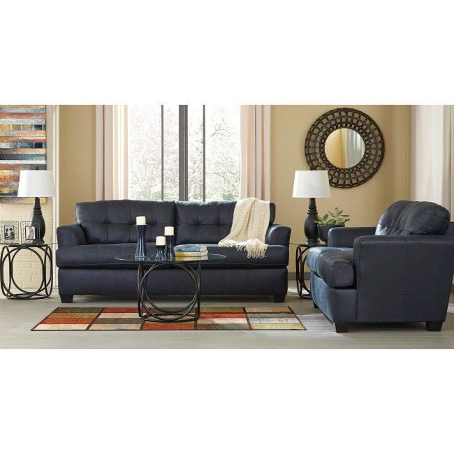 Pleasing Inmon Navy Living Room Set Ocoug Best Dining Table And Chair Ideas Images Ocougorg