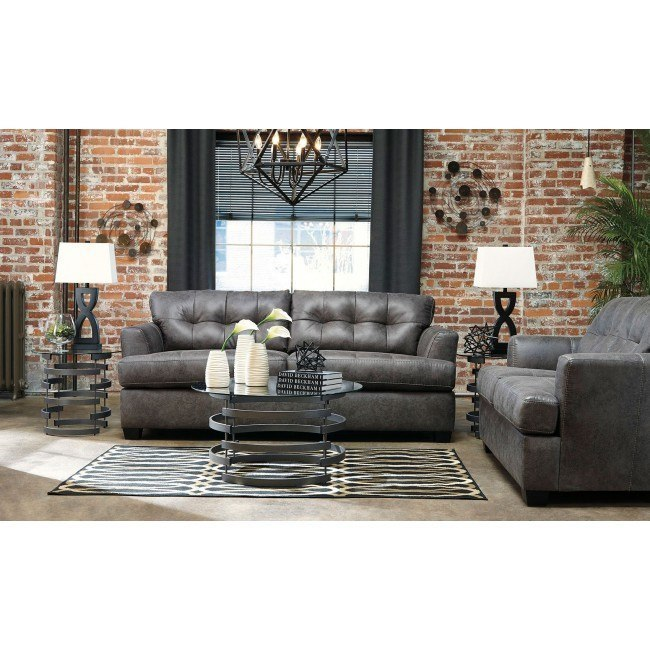 Strange Inmon Charcoal Living Room Set Ocoug Best Dining Table And Chair Ideas Images Ocougorg