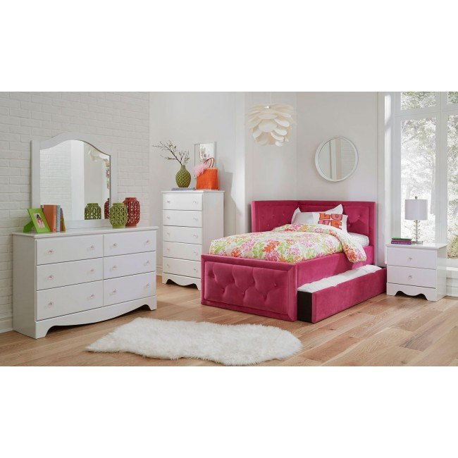 Gabby Bedroom Set w/ Avery Corner Bed