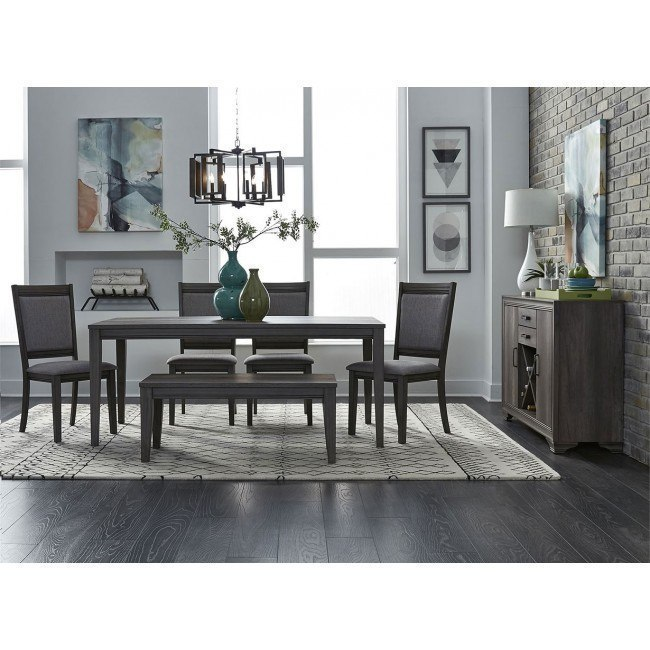 Terrific Tanners Creek 72 Inch Dining Room Set W Upholstered Chairs And Bench Ncnpc Chair Design For Home Ncnpcorg