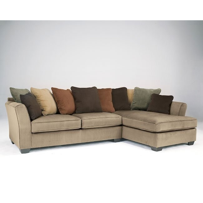 Super Laken Mocha Sectional W Right Chaise Squirreltailoven Fun Painted Chair Ideas Images Squirreltailovenorg