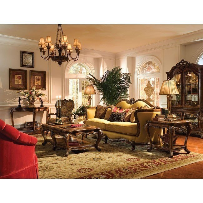 Palais Royale Living Room Set Aico Furniture Furniture Cart