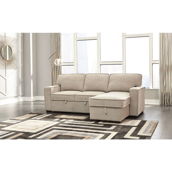 Darton Cream Right Chaise Sofa W Pop