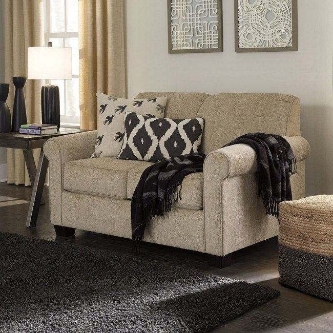 on sale e6015 5e2e4 Cansler Grain Full Sofa Sleeper