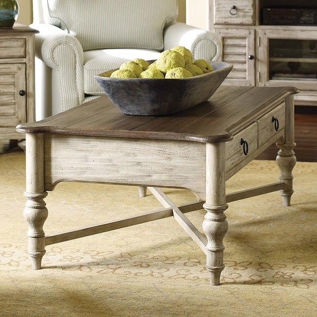 Weatherford Cocktail Table Cornsilk Kincaid Furniture Furniture Cart