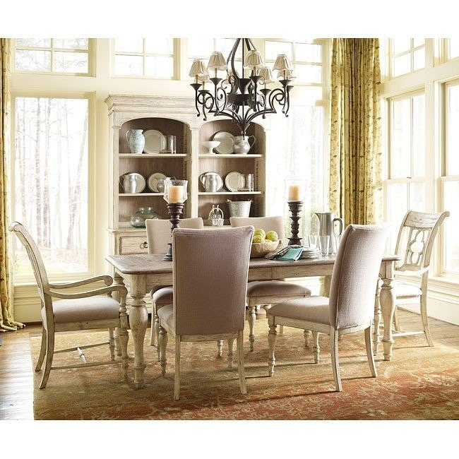 Weatherford Canterbury Dining Room Set W Chair Options Cornsilk Kincaid Furniture Furniture Cart