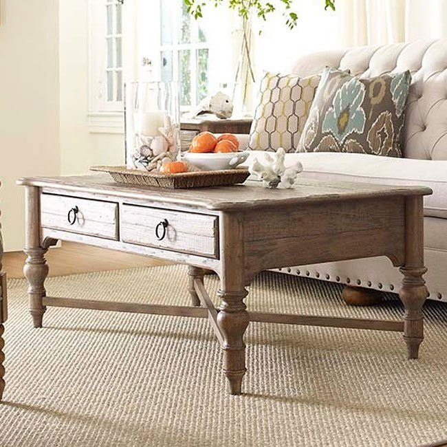 Weatherford Cocktail Table Grey Heather Kincaid Furniture Furniture Cart