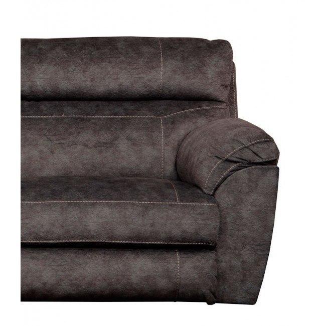 Brilliant Sedona Power Lay Flat Recliner W Power Headrest And Lumbar Smoke Dailytribune Chair Design For Home Dailytribuneorg