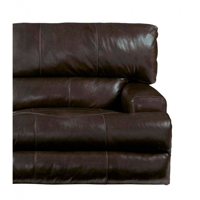 Groovy Wembley Power Lay Flat Recliner W Power Headrest And Lumbar Chocolate Pabps2019 Chair Design Images Pabps2019Com