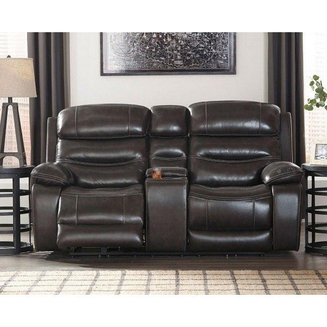 Groovy Pillement Metal Power Reclining Loveseat W Adjustable Headrest Alphanode Cool Chair Designs And Ideas Alphanodeonline