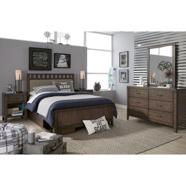 Sawyers Mill Upholstered Slat Bedroom Set