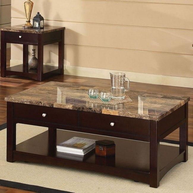 Jas Coffee Table W Lift Top Espresso