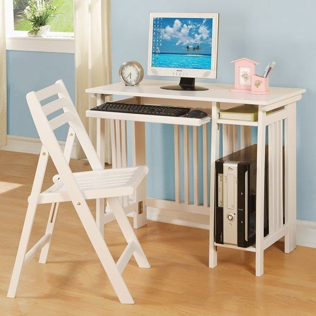 Strange Folding Desk And Chair Set White Andrewgaddart Wooden Chair Designs For Living Room Andrewgaddartcom
