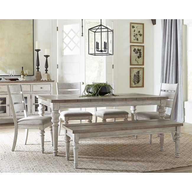 Remarkable Heartland Rectangular Dining Room Set W Bench Caraccident5 Cool Chair Designs And Ideas Caraccident5Info