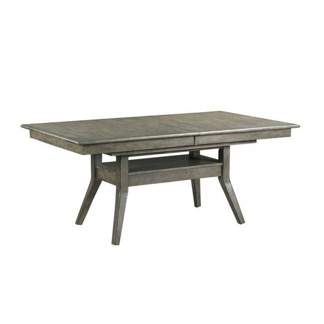 Pleasant Cascade Dillon Rectangular Dining Table Inzonedesignstudio Interior Chair Design Inzonedesignstudiocom