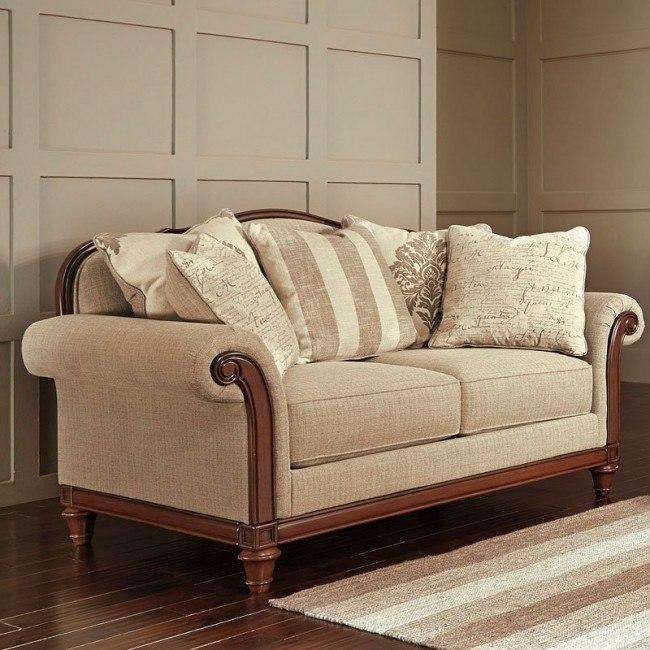 Fantastic Berwyn View Quartz Loveseat Lamtechconsult Wood Chair Design Ideas Lamtechconsultcom