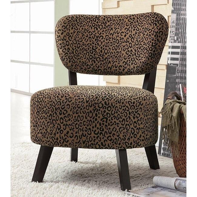 Astonishing Leopard Print Accent Chair Beatyapartments Chair Design Images Beatyapartmentscom