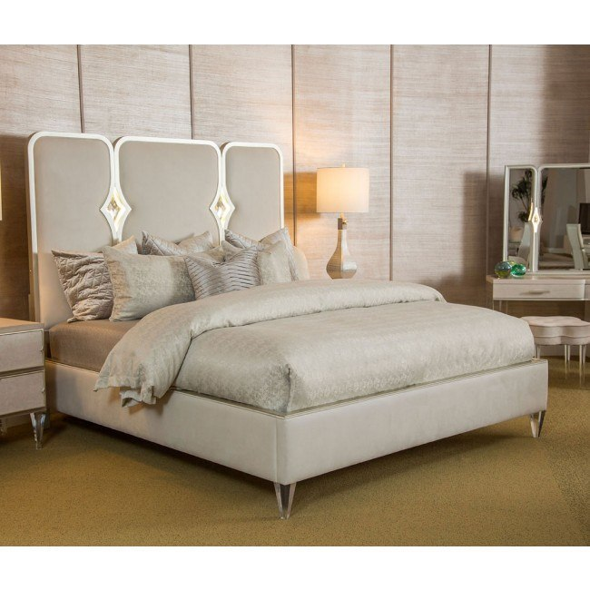 Magnificent Camden Court Crystal Upholstered Panel Bed Home Interior And Landscaping Palasignezvosmurscom