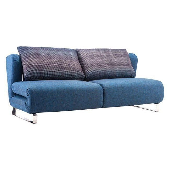 Cool Conic Sleeper Sofa Cowboy Blue And Shadow Grid Camellatalisay Diy Chair Ideas Camellatalisaycom