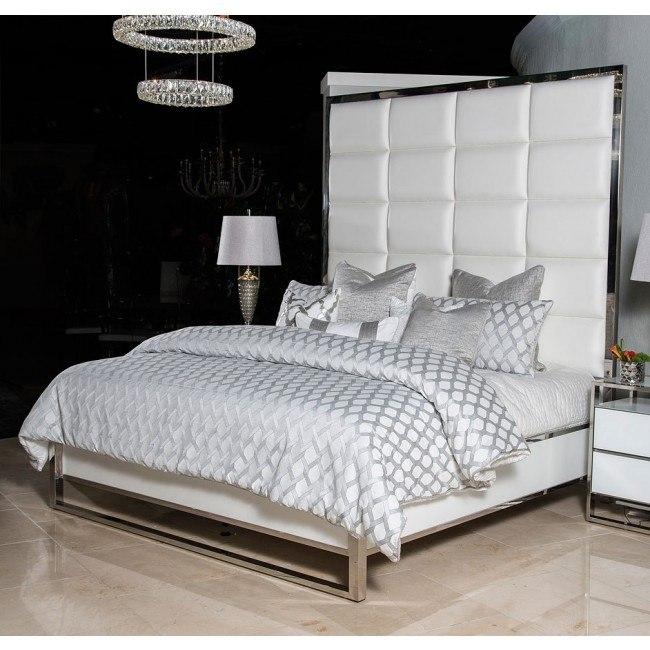 State St Metal Panel Bedroom Set Aico Furniture Furniture Cart