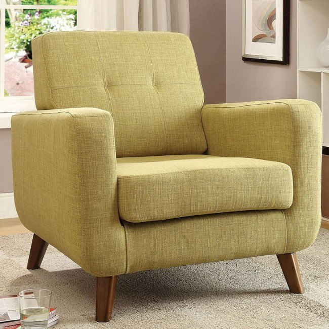 Outstanding Mid Century Accent Chair Green Machost Co Dining Chair Design Ideas Machostcouk
