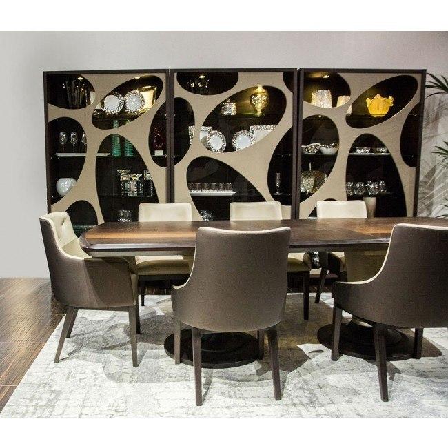21 Cosmopolitan Rectangular Dining Room Set (Taupe)