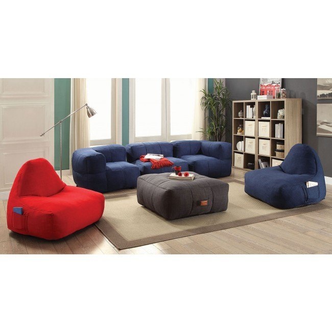 Peachy Lazy Life Bean Bags Living Room Set Pabps2019 Chair Design Images Pabps2019Com