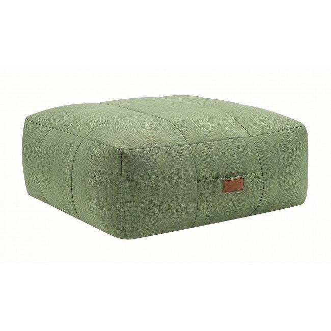Amazing Lazy Life Ottoman Green Machost Co Dining Chair Design Ideas Machostcouk