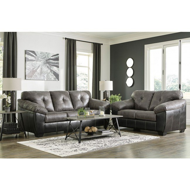 Gregale Slate Living Room Set