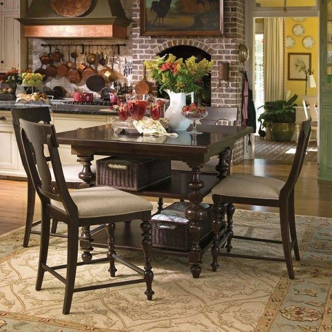 Paula Deen Home Gathering Dining Set (Tobacco) Paula Deen ...