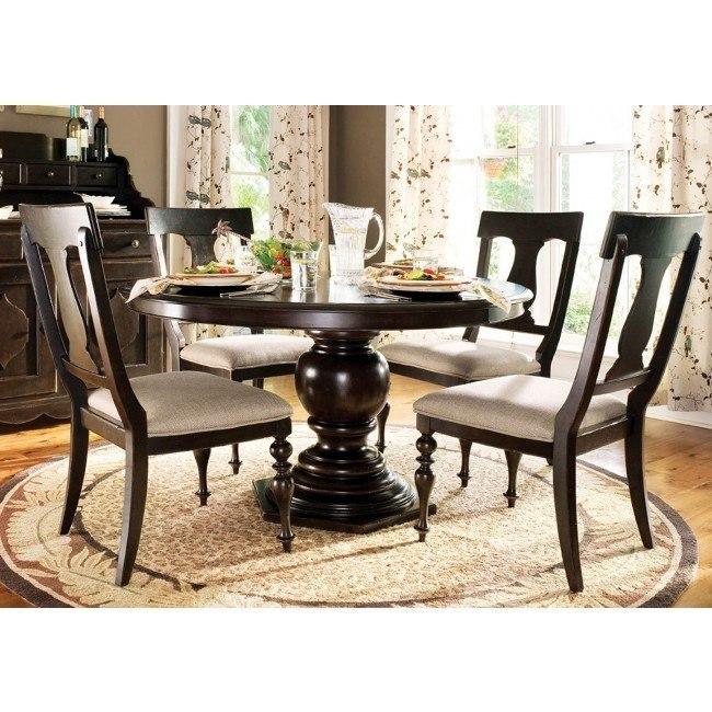 Paula Deen Home Pedestal Dining Set W/ Paulas Chairs ...