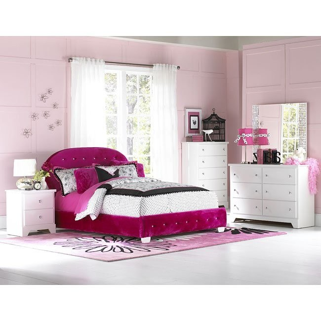 Marilyn Bedroom Set w/ Watermelon Bed