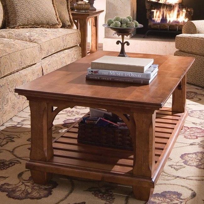 Tuscano Rectangular Cocktail Table Kincaid Furniture Furniture Cart